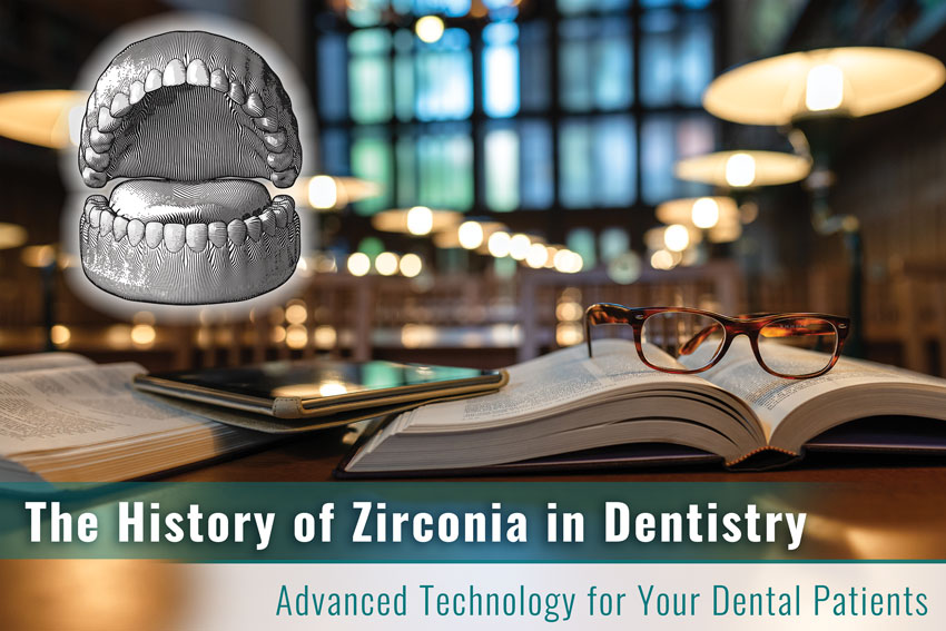 Zirconia in Dentistry: The History of Zirconia